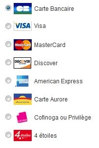 Modes de paiement sur le site edendrops France